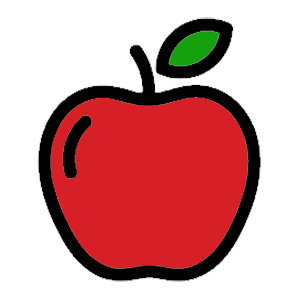 Get treatment with preventative therapies. Drawing of red apple