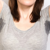Women's health underarm sweat control