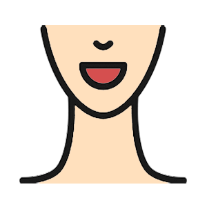 Get treatment for cosmetic conditions. Drawing of a woman's face